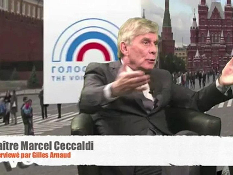 Libye, Syrie… la France, agent de la CIA et du Qatar — Maître Marcel Ceccaldi