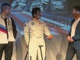 Alex Zanardi BMW M3 DTM Car Pressconference at the Nurburgring