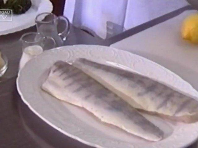 Kochen mit Torgau-TV: Zanderfilet auf Blattspinat