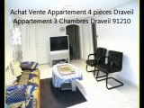 Vente Appartement 4 pièces Draveil Mainville 91 Achat Vente Immobilier Île-de-France Essonne