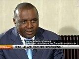 Lucas Abaga Nchama, Gouverneur de la Banque des États de l'Afrique centrale (Beac)