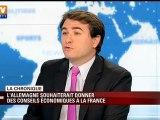 L'Allemagne souhaiterait donner des conseils économiques à la France