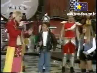 Larissa e William no Xuxa Hits - D�cada de 90