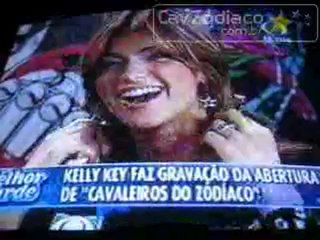 Kelly Key cantando Guardi�es do Universo