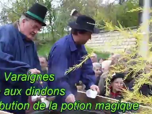 Varaignes , Distribution de la potion magique lors de la foire aux dindons