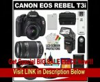 [SPECIAL DISCOUNT] Canon EOS Rebel T3i Digital SLR Camera Body & EF-S 18-55mm IS II Lens with 55-250mm IS Lens + 16GB Card + .45x Wide Angle & 2x Telephoto Lenses + Flash + Case + Battery + Remote + (2) Filters + Access