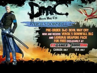 Vergil's Downfall DLC Trailer de DmC Devil May Cry
