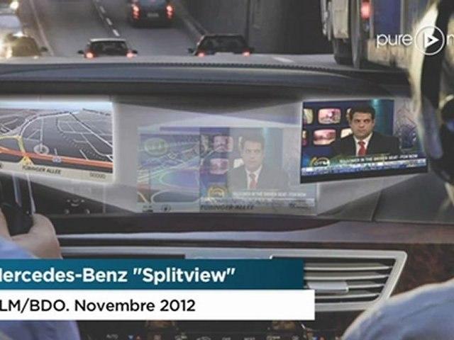 Campagne Mercedes-Benz Splitview