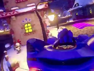 Sonic & All Stars Racing Transformed Wii U Trailer de Sonic & Sega All Stars Racing Transformed