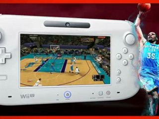 Spécificités de la version Wii U de NBA 2K13