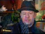 Donnie wahlberg on The Insider (Blue Blods)