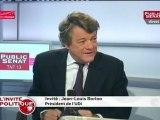 Jean-Louis Borloo : « Nous souhaitons une société qui n'ait pas de frontières ni dans la tête, ni dans les quartiers ni autour de l'Europe. Nous n'avons peur ni des Allemands ni des Arabes. »