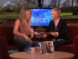 Ellen with Jennifer Aniston and the Vibrating Bra