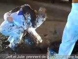 Julie et Jeff prennent de la boue en pleine face - C'Cauet sur NRJ
