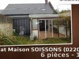 A vendre - maison - SOISSONS (02200) - 6 pièces - 100m²