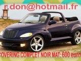 Chrysler PT Cruiser, Chrysler PT Cruiser, Essai video Chrysler PT Cruiser, covering Chrysler PT Cruiser , Chrysler PT Cruiser noir mat