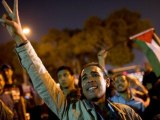 Hundreds of Egyptians rally in support of Palestinians in Cairo