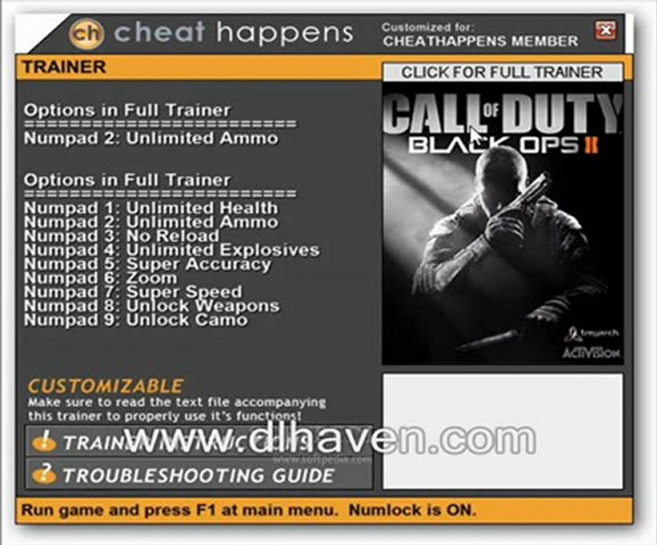 Call Of Duty Black Ops Ii V1 0 12 Trainer Video Dailymotion