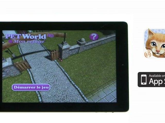 Pet World 3D : Mon refuge - Test - iPhone/iPad
