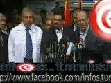 كلمة وزير الخارجية رفيق عبد السلام منذ قليل في المؤتمر الصحفي الذي عقده في غزة