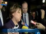 Martine Aubry mise en examen pour l'affaire de l'amiante dans les années 80