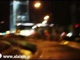"""لحظة سقوط صاروخ فجر """"5"""" على برج في """"تل أبيب"""""""