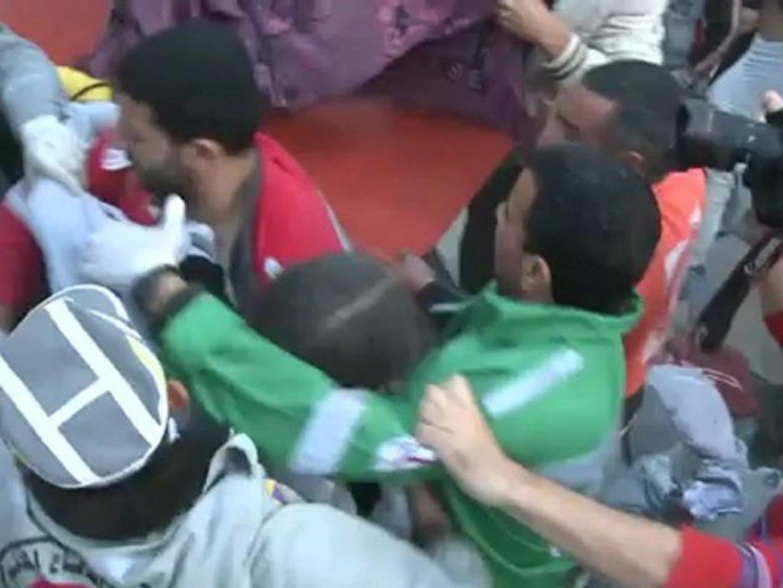 Israeli air strike hits Gaza