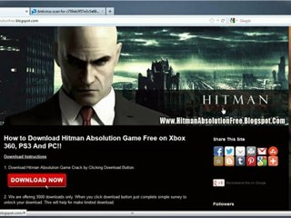 How to Download Hitman Absolution Game Crack Free - Xbox 360