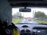 rallye normandie beuzeville 2012 es 1 206 xs a6k fleury nicolas / batté frédéric
