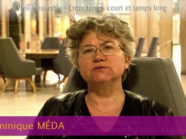 Dominique Méda - Vivre ensemble 2012 - cese