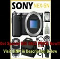 [SPECIAL DISCOUNT] Sony NEX-5N/B 16.1MP Compact Interchangeable Lens Digital Camera Body + Sony E-Mount SEL18200 18-200mm F3.5-6.3 AF Zoom Lens + Sony SEL16F28 16mm Lens + 32GB SDHC + Lens Fiter + Sony Case + Lens Pouch
