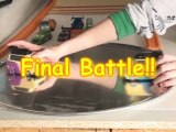 Pixar Cars Sumo Wrestlers Final Battle !