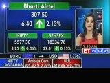 Sensex, Nifty open in green; Bharti Airtel, TCS up