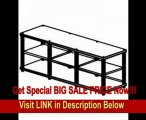 SPECIAL DISCOUNT Cherry with Aluminum Posts Salamander Synergy Triple 20 TV Stand Base Unit