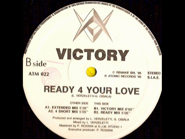 Victory – Ready 4 Your Love (Victory Mix)