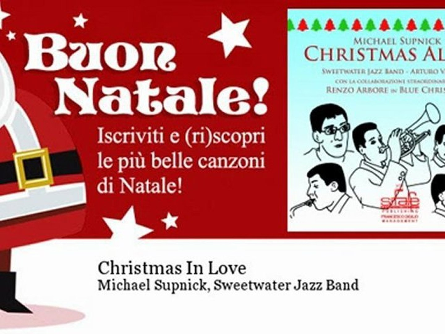 Michael Supnick, Sweetwater Jazz Band - Christmas In Love - Natale