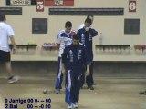 Mène 2, Finale du Super 16 à Andrézieux Bouthéon, Novembre 2012, Bal contre Jarrige