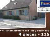 Vente - maison/villa - templemars axe lille / seclin (59175)