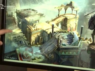 Unchained - The Desert of Lost Souls de God of War : Ascension
