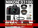 [FOR SALE] Nikon D3100 Digital SLR Camera & 18-55mm G VR DX AF-S Zoom Lens with 16GB Card + .45x Wide Angle & 2.5x Telephoto Lenses + Filter + Tripod + Accessory Kit