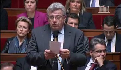Suppression de la taxe professionnelle, ma question à Jérôme Cahuzac aux #QAG