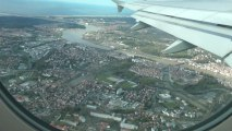 vol Air France de Paris Orly à Biarritz Bayonne avec atterrissage au second essai, trop de vent