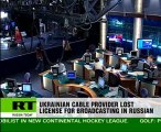 Ukrainian regulator bans Russian programmes