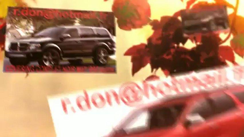 Dodge Durango, Dodge Durango, Essai video Dodge Durango, covering Dodge Durango, Dodge Durango noir mat