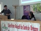 Forum Santé-Environnement à Brest (2012) - Intervention Pascale Choucroun, médecin en santé-environnement au Chru de Brest