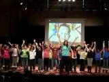 Flashmob sur le thème des droits de l'enfant