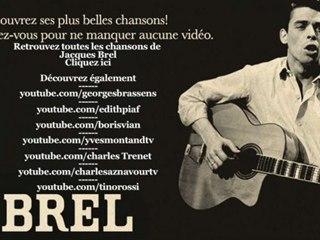 Jacques Brel - Quand on a que l'amour - Paroles (Lyrics)