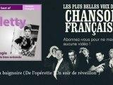 """Arletty - Dans sa baignoire - De l'opérette """"Un soir de réveillon"""" - Chanson française"""