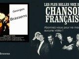 Georges Brassens - L'orage - Chanson française