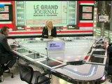 21/11 BFM : Le Grand Journal d'Hedwige Chevrillon - François Baroin et Olivier Zarrouati 2/4